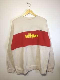 freshjive crewneck pocket sweatshirt