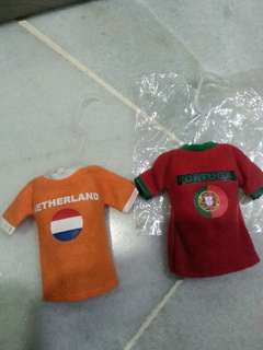 Mini Football Jersey collectibles