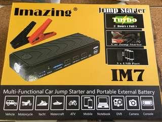 Imazing Multi-function Car Jump Starter 過江龍及外置差電(尿袋)