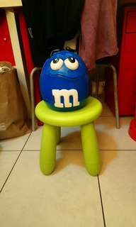 M&M's藍M大陶瓷罐/儲物罐