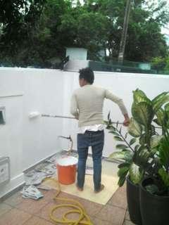 tukang cat rumah. kk 01131210063