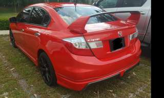 Civic fb for rent kereta sewa