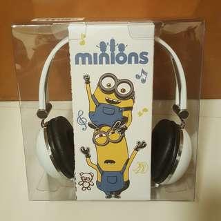 全新minions headphone 迷你兵耳機