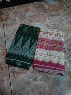 Sarung Shalat Motif Kalimantan set.