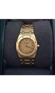 Audemars Piguet Royal Oak Solid 18k Gold watch