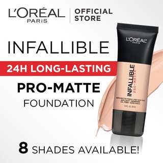 🚚 L'Oreal Paris Infallible Pro Matte Foundation