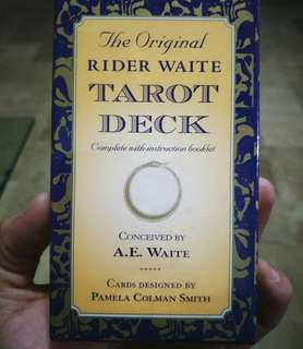 Original  Raider Waite Tarot Deck