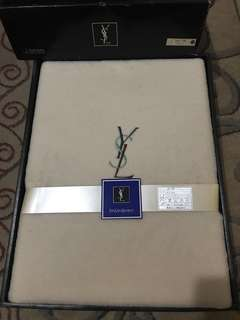 Original Yves Saint Laurent YSL Blanket
