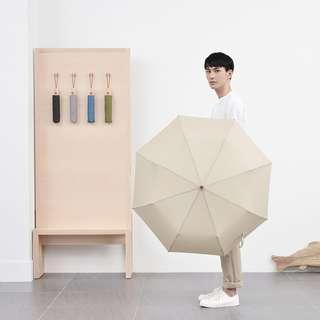 Tiohoh 滴水不沾三折摺疊雨傘 超潑水雨傘