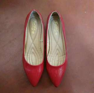 FOLLIE RED SHOES