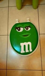 全新M&M's手繪馬桶蓋