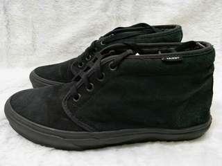 Sepatu Original Vans Midle Full Black sz40