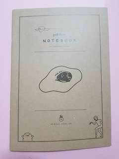 🚚 Gudetama Japan authentic official notebook rare