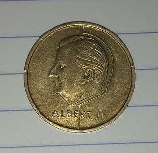 比利時硬幣1994