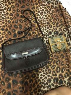 Authentic Coach Wallet & Liz Claiborne bag