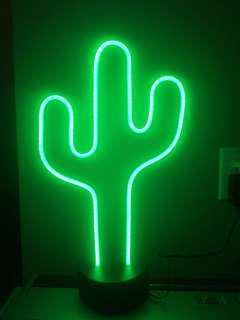 LED Neon Cactus