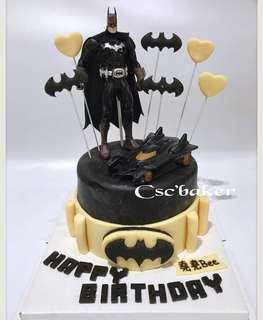 立體蛋糕 batman蛋糕 蝙蝠俠蛋糕 生日蛋糕 3d蛋糕