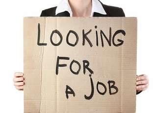 Female seeking for a job