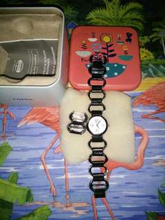 📌authentic fossil watch,