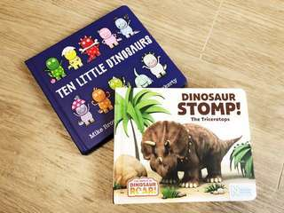 🚚 Dinosaurs Book Set for ages 3-5