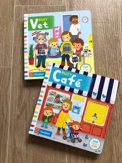 The Busy Book Set for ages 0 to 2