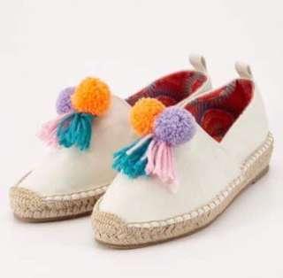 🚚 毛球編織鞋