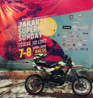 Kawasaki Dtracker 150cc th.2016