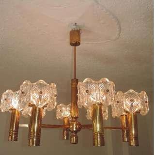 西歐1960-70 八頭吊燈