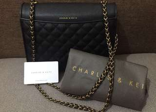 Charles And Keith Quillted