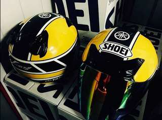 "Shoei JF 2 ""Kenny Roberts"""
