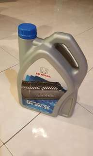 Honda semi synthetic engine oil