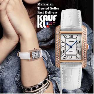 SKMEI 1281 Ori Lady Women Watch Jam Tangan Wanita Design Like Casio Fossil