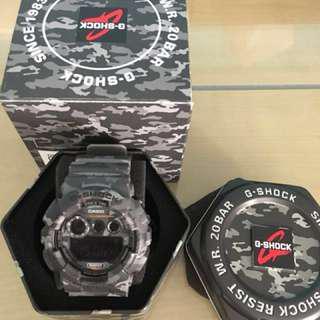 WTS Casio G Shock GD120CM Grey Camo Watch