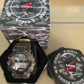 WTS G Shock GD120CM Green Camo Watch