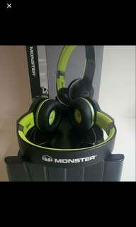Monster iSport freedom bluetooth headphone