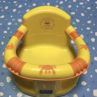 Baby bath seat (bought in hk aeon) 99% new