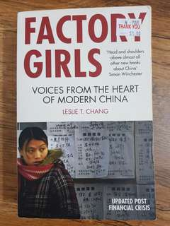 🚚 Factory Girls (Leslie T. Chang)