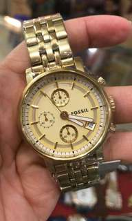 Jam fossil bf gold