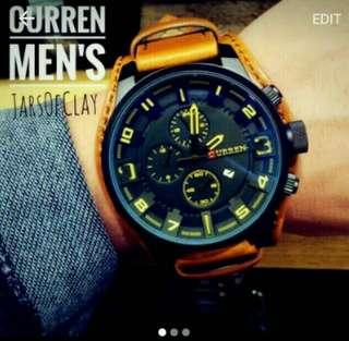 Curren brown watch