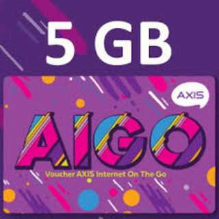 PAKET DATA AXIS 5GB