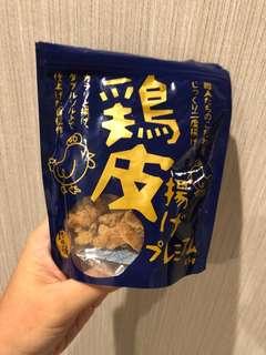 🚚 日本代購🇯🇵脆雞皮 零食 下酒菜