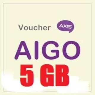 PAKET AXIS AIGO 5GB