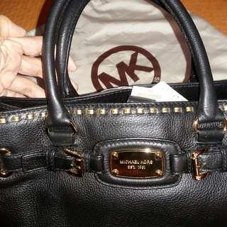 MK authentic black/gold