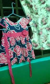GAUN FLOWERS ROSE RM15