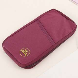 Travel Organizer for passport and travel documents wallet