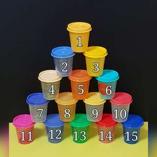 Authentic Tupperware Midget 60ml  《Retail Price S$3.50/each》