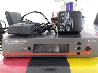 Seinheiser EW100 G3 wireless receiver.