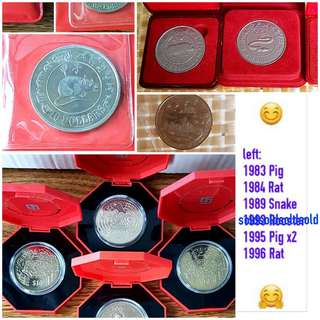 Collectable Coins - Chinese Zodiac Sign