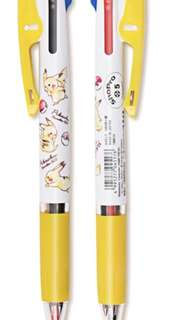 Uni Japan Pokemon Pikachu  3 in 1 jetstream multi pen