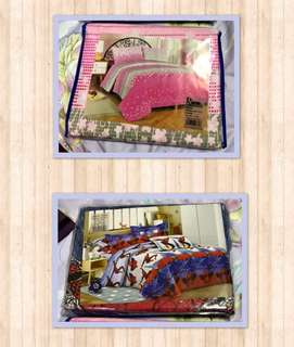 King size 3 in 1 Bedsheet Bedding